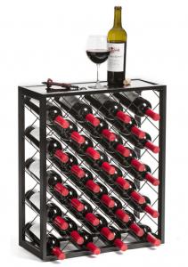 Mango Steam 32 Bottle Wine Rack Holds