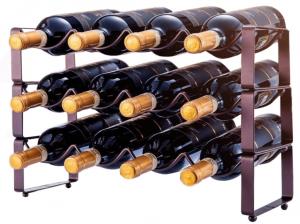 3 Tier Stackable Wine Cellar
