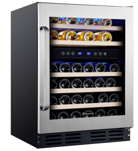 Kаlаmеrа 45 Bоttlе Dual Zone 24 Dual Zone Wine Coolers